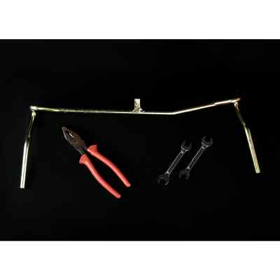 Tool Kit (Wire Tightner Handle + Cutting Plier + Spanner x2)
